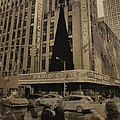Vintage Radio City Music Hall by Dan Sproul
