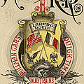 Vintage Train Ad 1897 by Andrew Fare