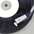 Vintage Record Player Close Up. Vintage Gramophone by Tomer Turjeman