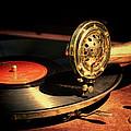 Vintage Record Player by Jill Battaglia