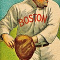 Vintage Red Sox by Benjamin Yeager