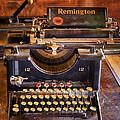 Vintage Remington Typewriter  by Saija  Lehtonen