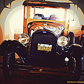 Vintage Ride  by Bobbee Rickard
