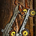 Vintage Roller Skates 5 by Paul Ward