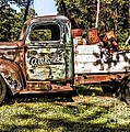 Vintage Rusty Old Truck 1940 by Peggy Franz