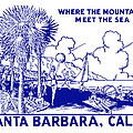Vintage Santa Barbara by Historic Image