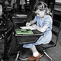 Vintage Schoolgirl by Andrew Fare