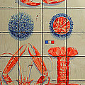 Vintage Seafood Sign 3 by Andrew Fare
