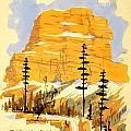 Vintage See America Travel Poster by Jon Neidert