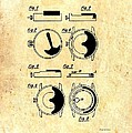 Vintage Self-winding Watch Movement Patent by Mountain Dreams