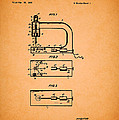 Vintage Sewing Machine Patent by Mountain Dreams