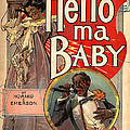 Vintage Sheet Music Cover Circa 1900 by New York Sunday Press