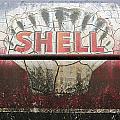Vintage Shell Oil Rail Tanker Car by Paul Fell