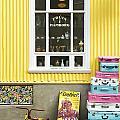 Vintage Shop In Akureyri Iceland by Jacek Malipan