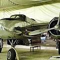 Vintage Silver Bomber Airplane by Susan Garren