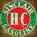 Vintage Sinclair Gasoline Sign by HH Photography of Florida