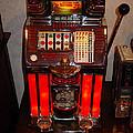 Vintage Slot Machine 25 Cents by Marvin Blaine