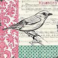 Vintage Songbird 1 by Debbie DeWitt