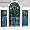 Vintage Stained Glass Windows by Kenneth Summers