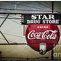 Vintage Star Drug Store by Perry Webster
