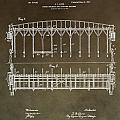Vintage Starting Gate Patent by Dan Sproul