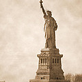 Vintage Statue Of Liberty by RicardMN Photography