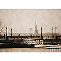 Vintage Statue Of Liberty View by RicardMN Photography