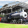 Vintage Steam Locomotive 5d29281 V2 by Wingsdomain Art and Photography