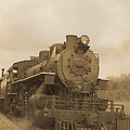 Vintage Steam Locomotive by Edward Fielding