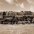 Vintage Steam Locomotive by Robert Storost