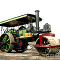 Vintage Steam Roller by Tom Conway