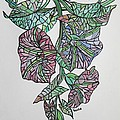 Vintage Style Stained Glass Morning Glory by Taiche Acrylic Art