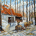 Vintage Sugar Shack By Prankearts by Richard T Pranke