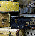 Vintage Suitcase by Rebecca Renfro