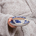 Vintage Teacup by Amanda Elwell