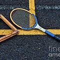 Vintage Tennis by Paul Ward