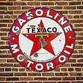 Vintage Texaco Gasoline Sign Dsc07195 by Greg Kluempers