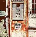 Vintage Tokheim Gas Pump by Marilyn Hunt