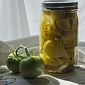Vintage Tomato Pickles 1 by MM Anderson