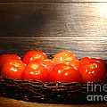 Vintage Tomatoes by Olivier Le Queinec