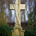 Vintage Tombstone Cross by Artur Bogacki