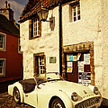 Vintage Touch. Culross Sketches. Scotland by Jenny Rainbow