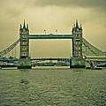 Vintage Tower Bridge by Eti Reid