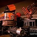 Vintage Toy Trains by Amy Cicconi