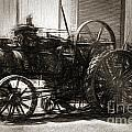 Vintage Tractor Drawing In Industrialised 1900s by Jorgo Photography - Wall Art Gallery