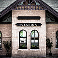Vintage Train Station by Edward Fielding