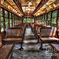 Vintage Trolley No. 948 by Susan Candelario
