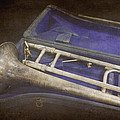 Vintage Trombone by Ann Powell