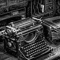 Vintage Typewriter by Adrian Evans