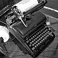 Vintage Typewriter by Holly Blunkall
